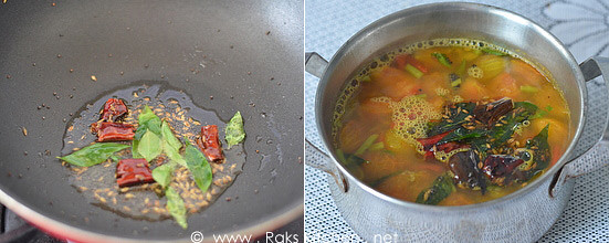 how to make rasam step 3