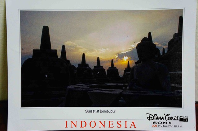 Postcard 19 - Indonesia