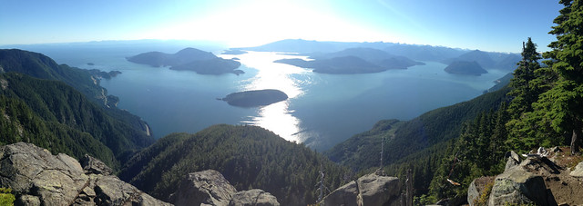 Panorama From St. Mark's Summit
