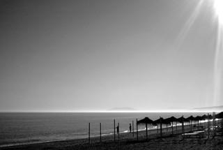 Abend am Strand - Torrox Costa