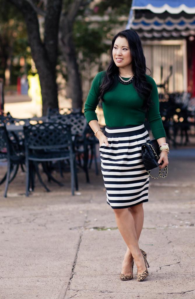 Emerald   Black/White Stripes - cute & little | Dallas Fashion   ...