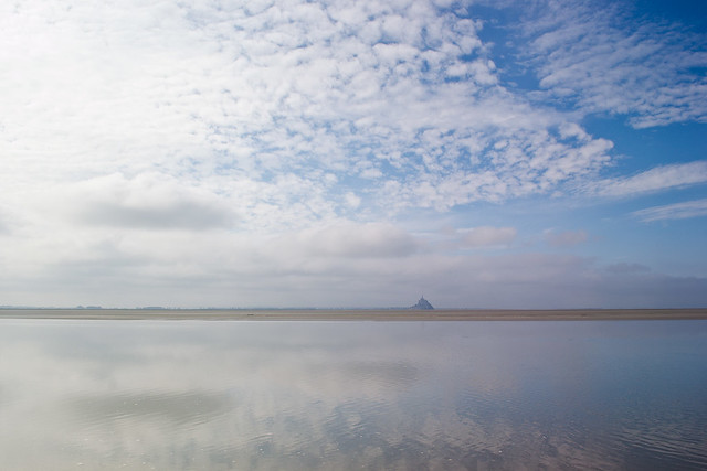Mont St. Michel From Afar