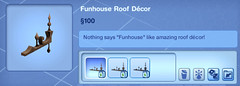 Funhouse Roof Decor
