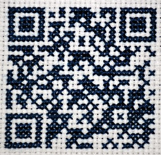 QR Code Cross-Stich