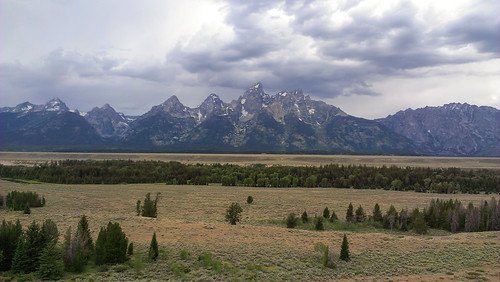 Grand Tetons, shot with HTC One camera phone.
