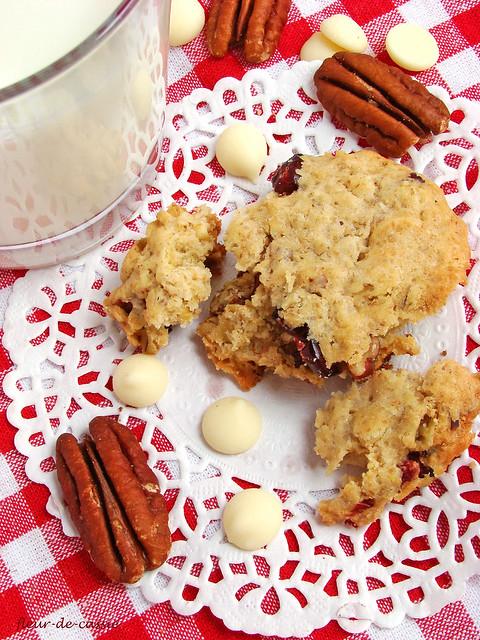 печенье с клюквой и белым шоколадом 2
