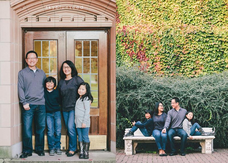 Family doorway bench