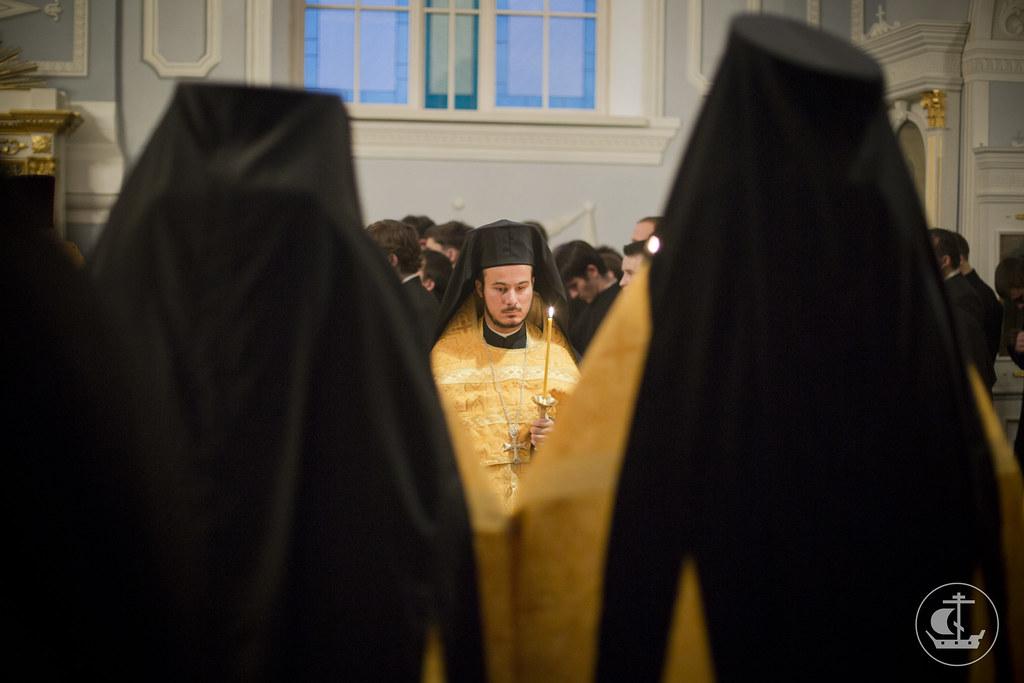 26 октября 2013, Всенощное бдение в Неделю 18-ю по Пятидесятнице