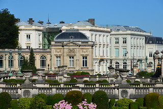 Image of Royal Palace. brussels art architecture style bluesky palace monuments