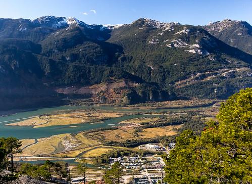View from peak of Stawamus Chief