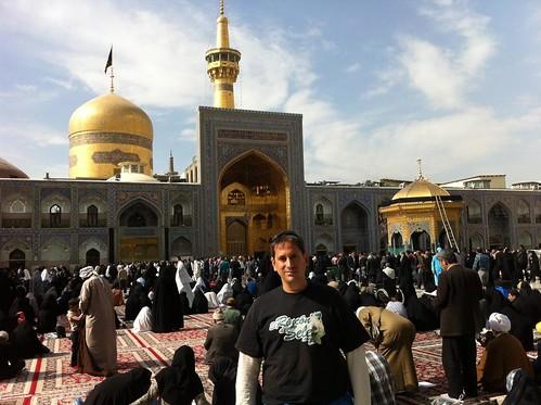 En Mashhad (Irán)
