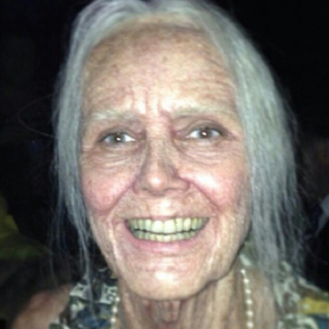 Wow!!! Heidi Klum dressed as an old woman for #Halloween via @ ...: www.flickr.com/photos/verastic/10608058575