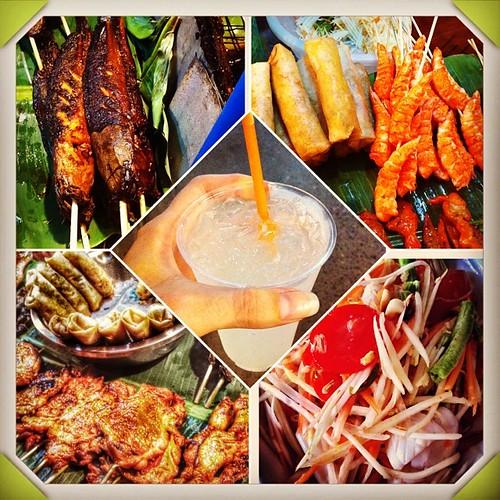 I love Thai street food!!