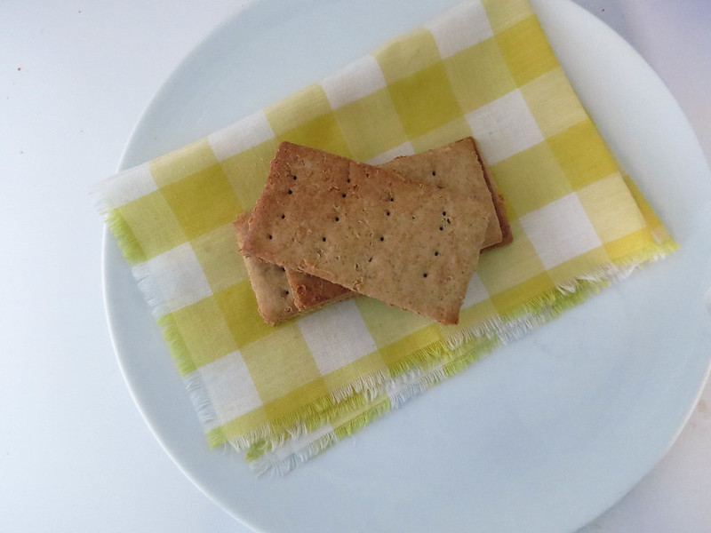 Buckwheat Brown Sugar Crackers