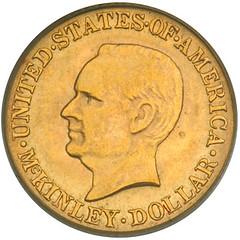 McKinley dollar obverse