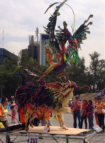 Mexico City Popular Art parade