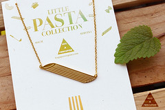 (NEW) Pasta Collection: Penne  Necklace by Hug A P…