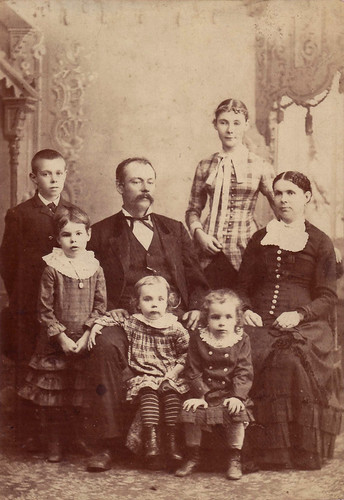 William N Morey Family ca 1882