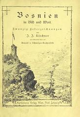 """British Library digitised image from page 5 of """"Bosnien in Bild und Wort. Zwanzig Federzeichnungen von J. J. Kirchner mit erklärendem Texte von A. v. Schweiger-Lerchenfeld"""""""