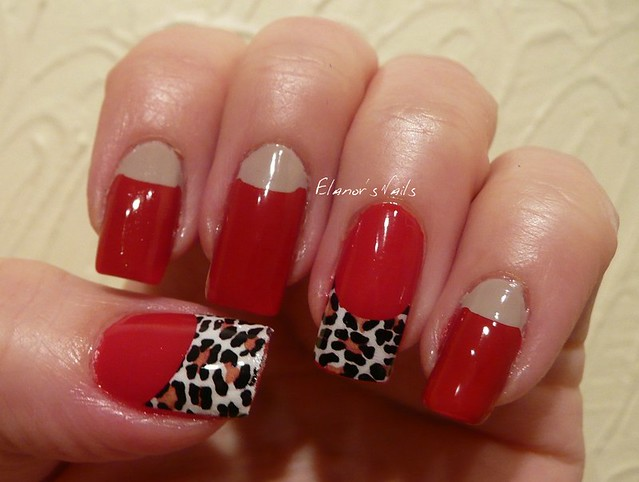 red + leopard print tip decal 4