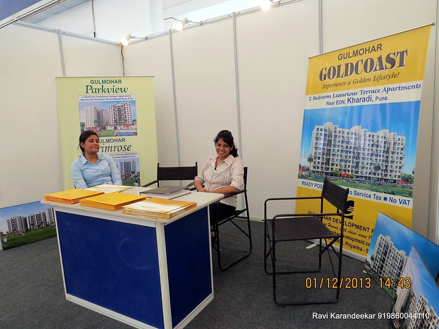 www.gulmohardevelopment.com Gulmohar  Parkview & Goldcoast at Kharadi, Gulmohar Primrose at Wagholi - 94.3 Radio One Pune  'Dream Property Expo' - Pune Property Exhibition - 30th November & 1st December 2013 at Ramee Grand Hotel, Apte Road, Pun