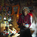 Tea? asks the monk, Tibet 2013 by reurinkjan