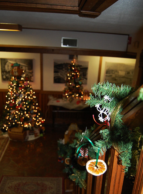 The Festival of Trees at the Southwest VIrginia Museum Historical State Park in Big Stone Gap runs through the end of December 2013 (closed on Mondays).