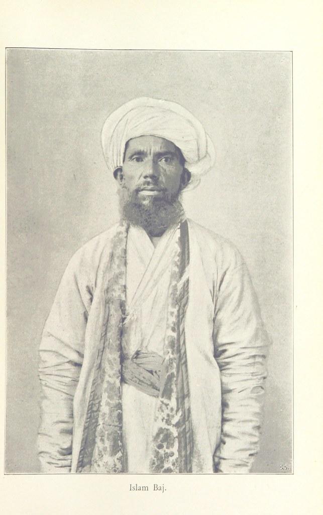 """Image taken from page 35 of 'Genom Asiens öknar. Forskningsresor och äfventyr, 1893-1897 ... Med 127 illustrationer och 3 kartor. [A summary of the author's work """"En Färd genom Asien.""""]'"""
