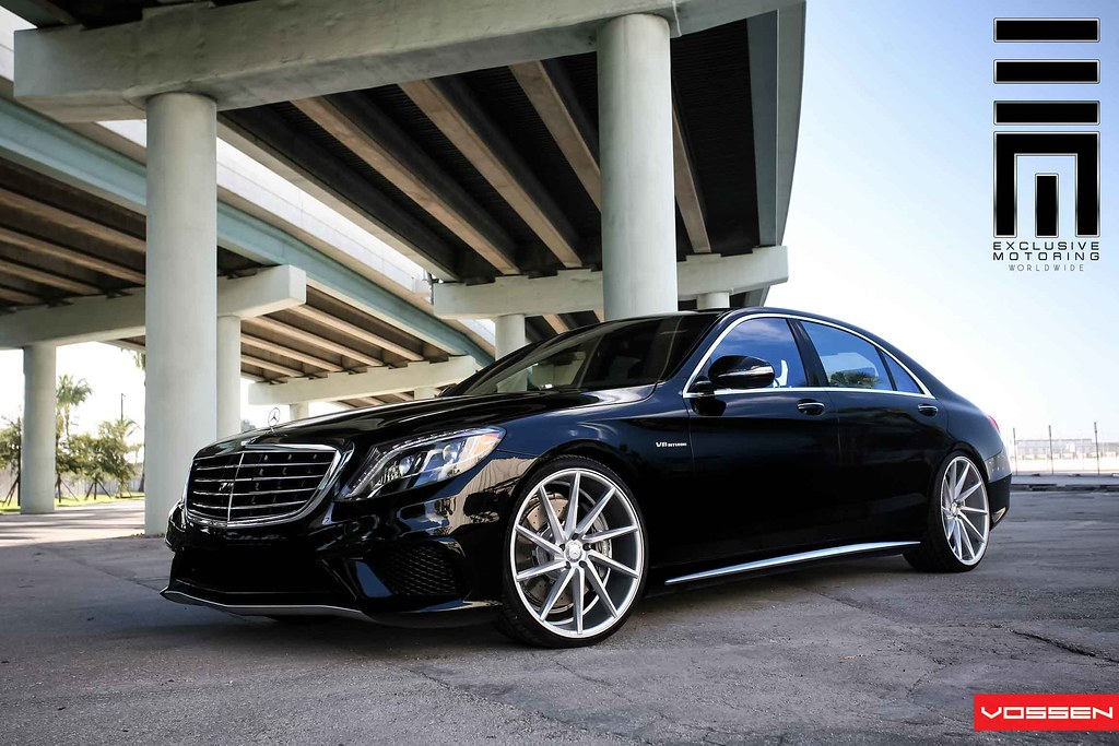 The magnificent 2014 mercedes benz s63 vossen 22 cvt for Mercedes benz wheel