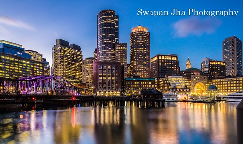 Boston Skyline - Blue Hour