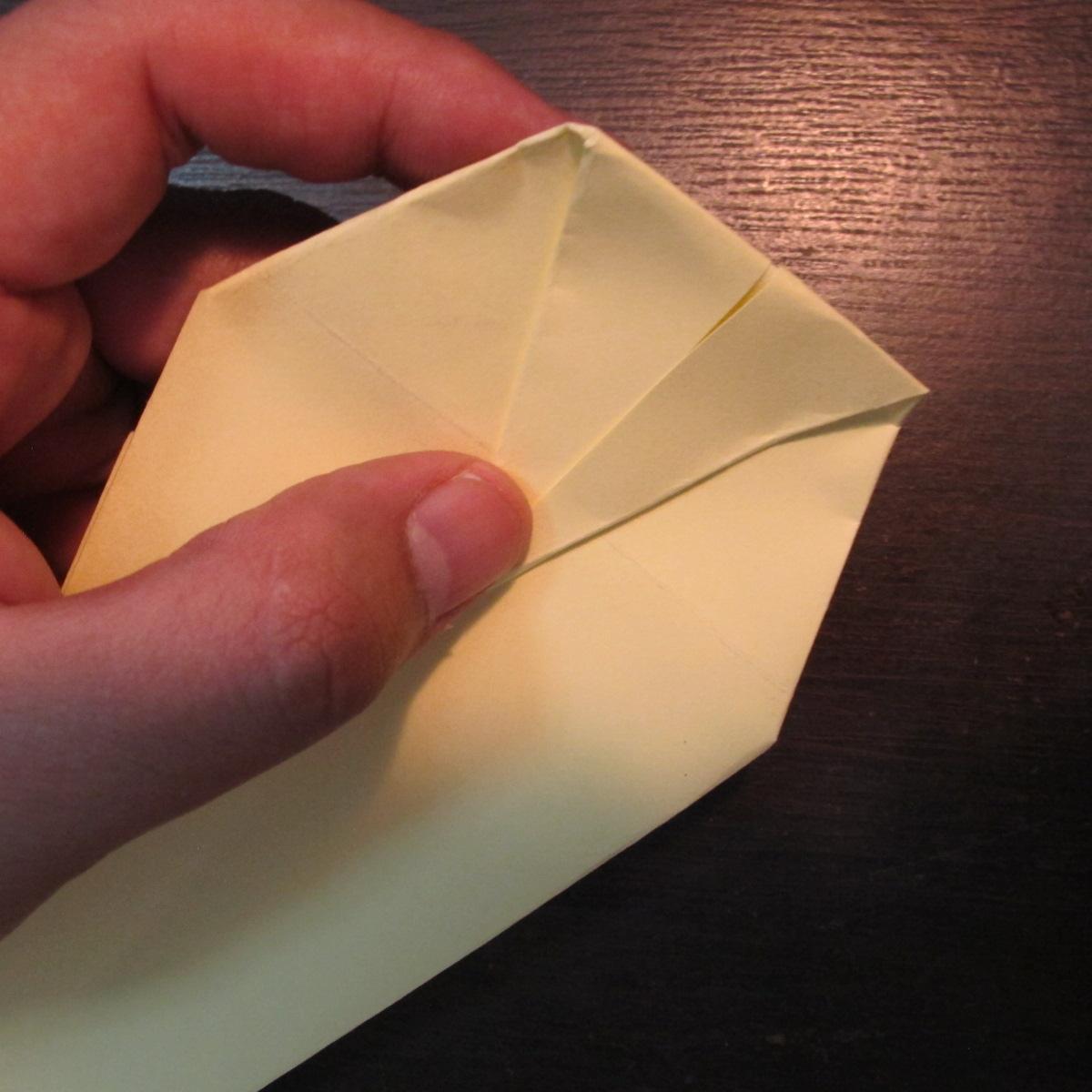 วิธีการพับกระดาษเป็นรูปหงส์ 012