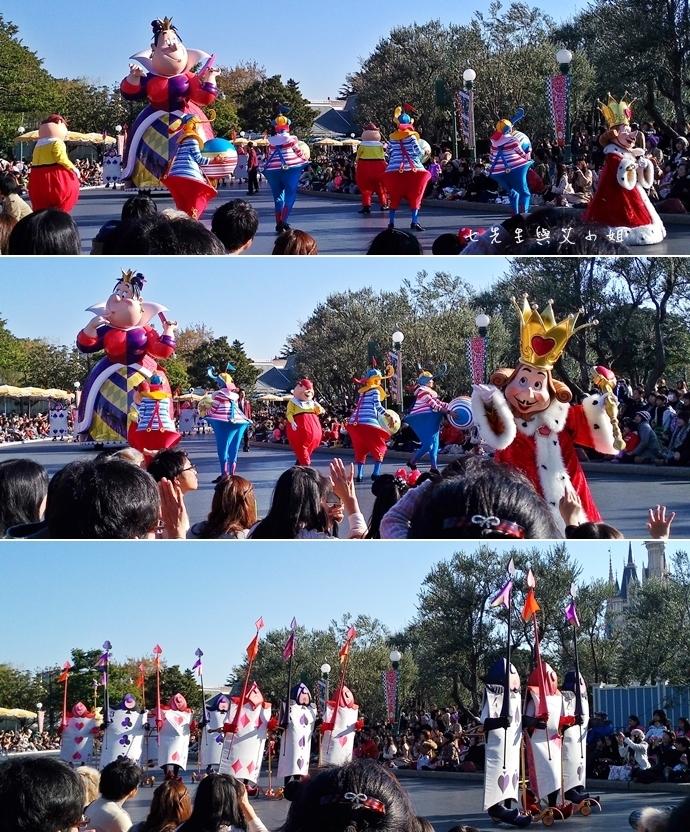 10 迪士尼聖誕村大遊行幸福在這裡夢之光大遊行