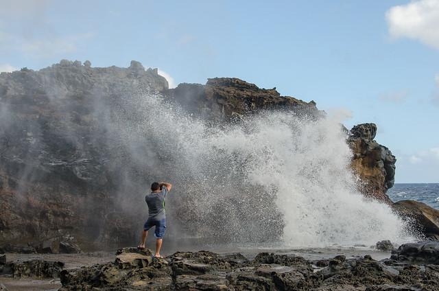 Nakalele Blowhole - Northwest Maui - Hawaii
