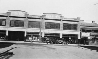 Car showroom Franklin Street, Adelaide, 1927