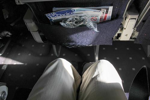 ボーイング737-500の普通席