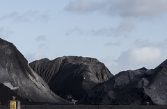 Mountains of black gold