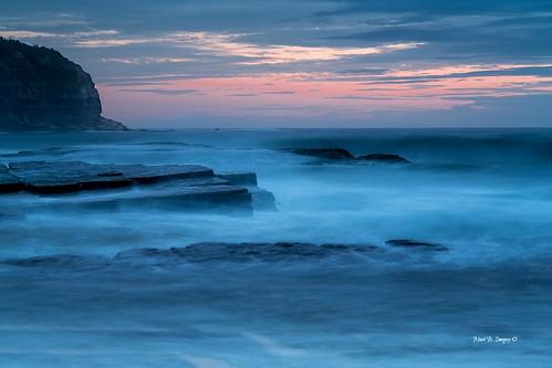 longexposure seascape color colour beach water sunrise canon landscape geotagged photography flickr waves sydney australia nsw narrabeen northnarrabeen turrimettabeach canon24105mmlense markbimagery