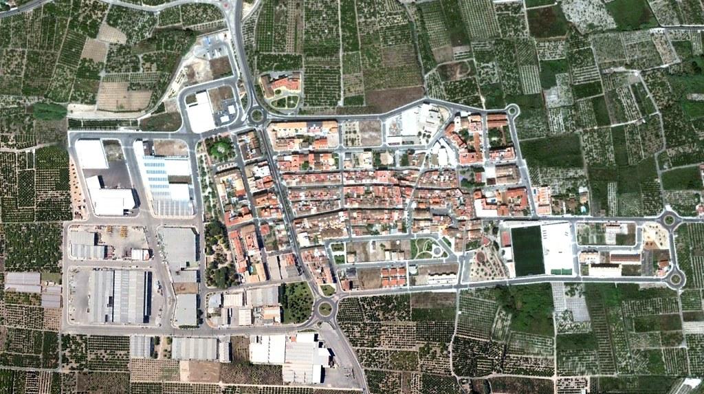 miramar, valencia, expansión como los zerg pero con rotondas, después, urbanismo, planeamiento, urbano, desastre, urbanístico, construcción, rotondas, carretera