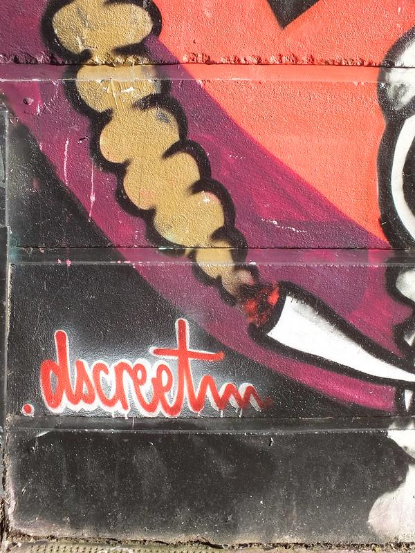 Graffiti and street art in Shoreditch