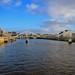 Tradeston (Squiggly) Bridge, Glasgow by Ugborough Exile