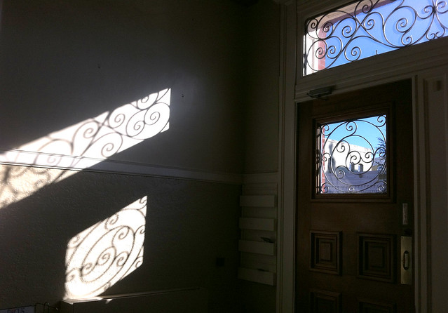 IotW 01-20-14: Sunlight Through the Old Courthouse Door