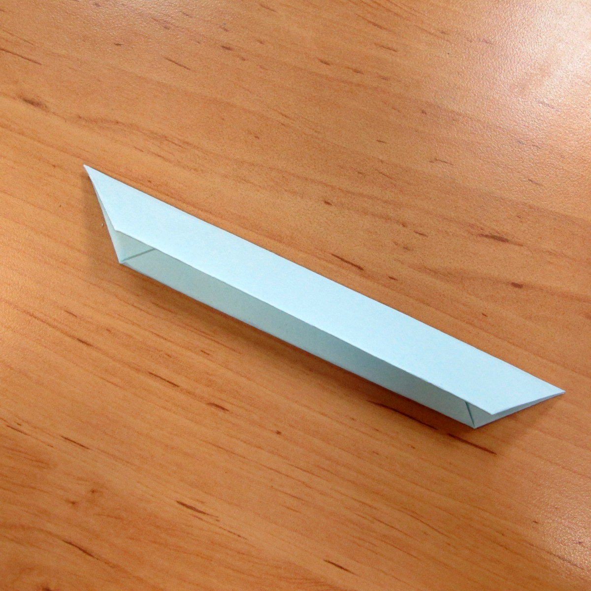วิธีการพับกระดาษเป็นดอกบัวแบบแยกประกอบส่วน 012