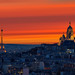 Eiffel & Sacré Coeur @ Sunset by A.G. Photographe