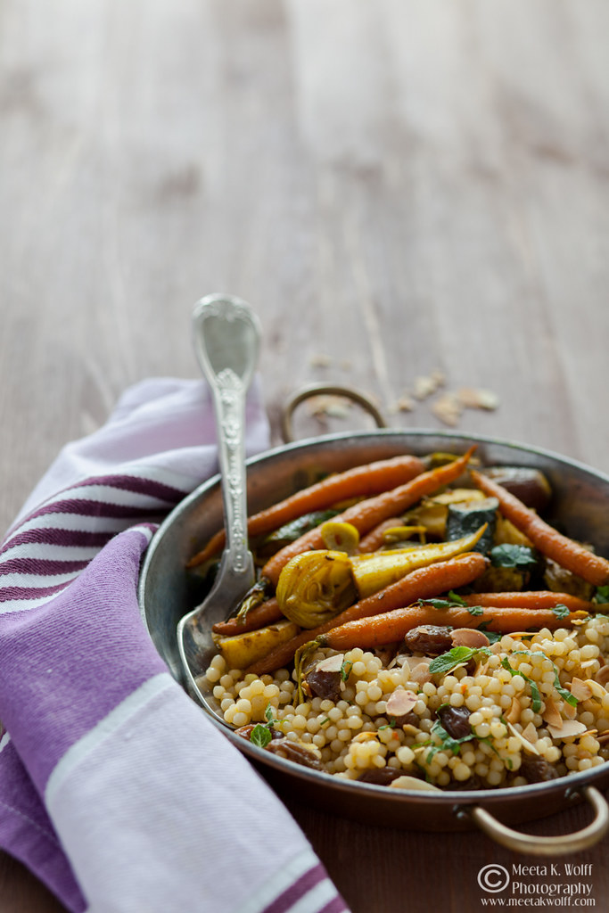 Turmeric Slow Roasted Veggies Couscous Pilaf 0053