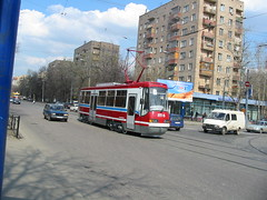 Moscow tram LT-5 test drive _20030421_101