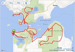 Deception Pass Route Map