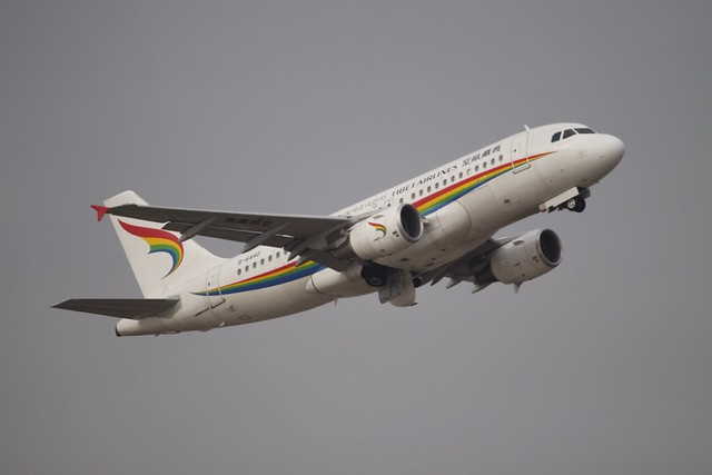 B-6440 Airbus A.319 Tibet Airlines