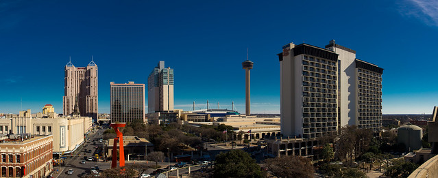 Downtown San Antonio Panoramic Photos Jcutrer Com