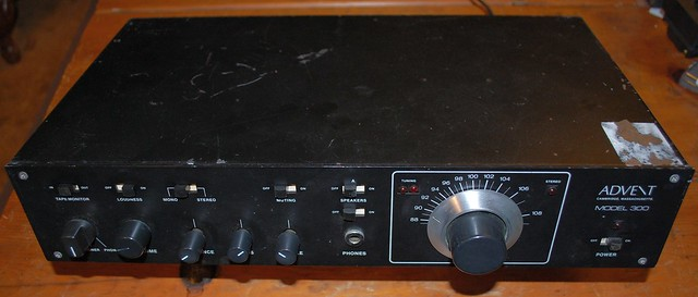 Advent 300 receiver
