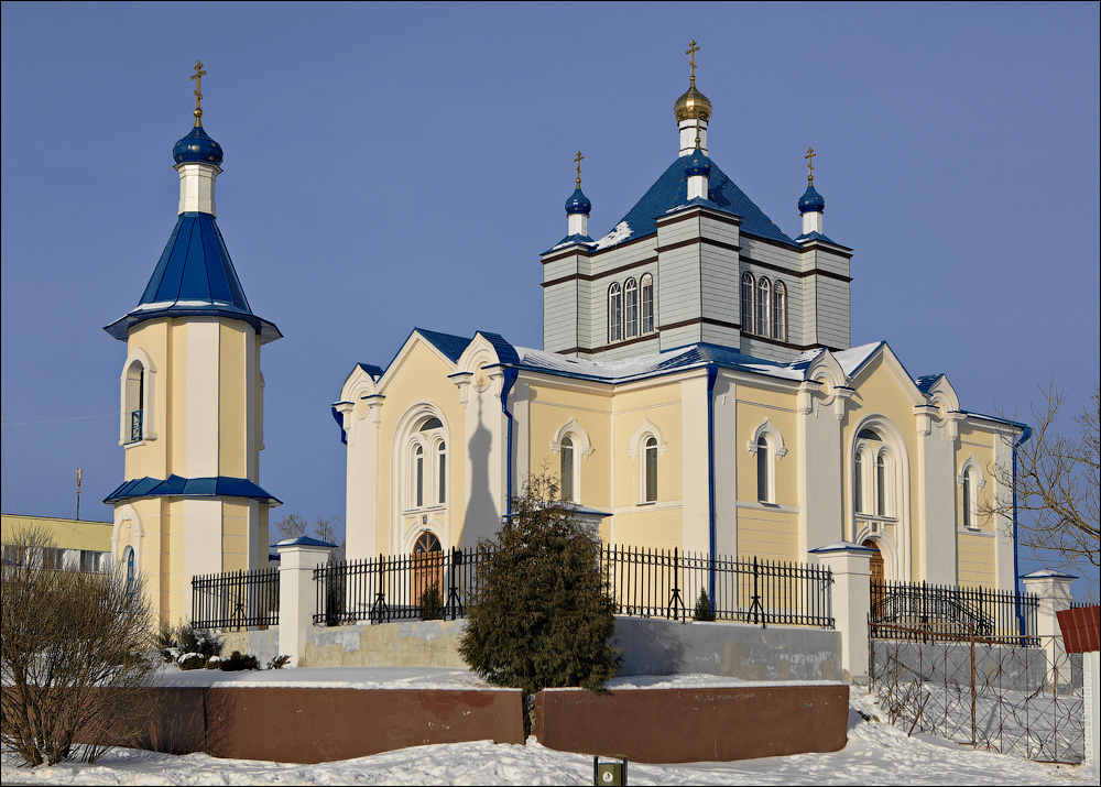 Дзержинск, Церковь Покровская